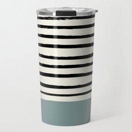 River Stone & Stripes Travel Mug