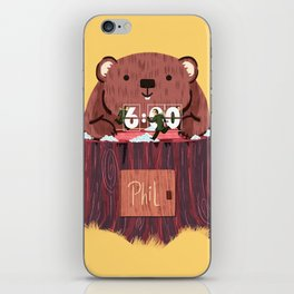Phil? I thought that was you! iPhone Skin