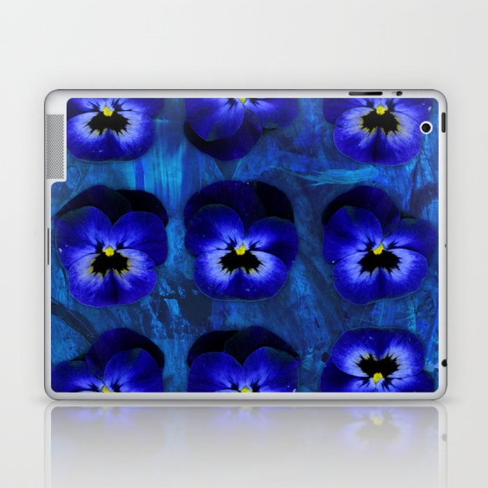 Deep Blue Velvet Laptop & iPad Skin
