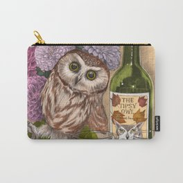 The Tipsy Owl Carry-All Pouch