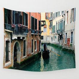 Venice Streets Wall Tapestry