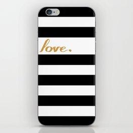 Simple Love iPhone Skin