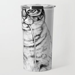 Mac Cat Travel Mug