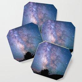 The Night Sky II - glowing stars Coaster
