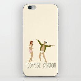 MOONRISE KINGDOM COVE iPhone Skin