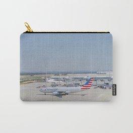 Flight AA717 MUC-PHL Carry-All Pouch