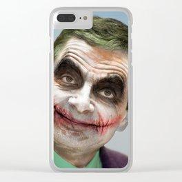 Joker atkinson Clear iPhone Case