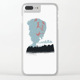 The Many Faces of Cinema: Leftovers Kevin Ver. Clear iPhone Case