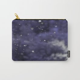 Holidaze Purple with SnowFlakes by CheyAnne Sexton Carry-All Pouch