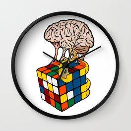 Cube Brain Wall Clock