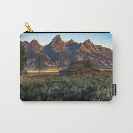 Wyoming - Moulton Barn and Grand Tetons Carry-All Pouch