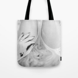stay or go? Tote Bag