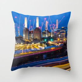 London England Throw Pillow