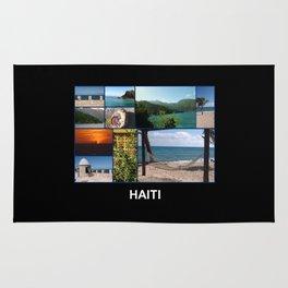 Colorful Photo Collage of Labadee, Haiti Rug