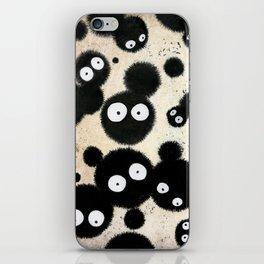Cute Susuwatari Infestation iPhone Skin