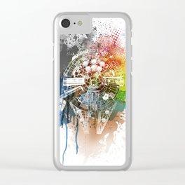 Millennium Falcon Clear iPhone Case