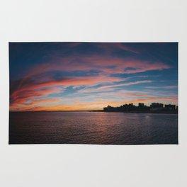Coney Island Sunset Rug