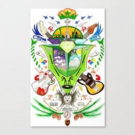 Seatown Crest Canvas Print