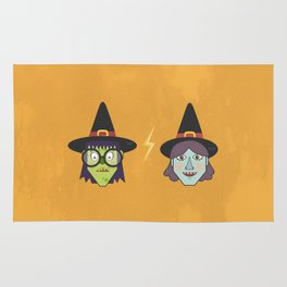 Good Witch VS Bad Witch Rug