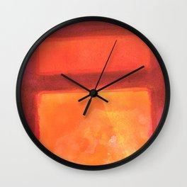 Color abstract 2 Wall Clock