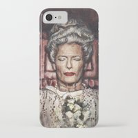 wes anderson iPhone & iPod Cases featuring Tilda Swinton / Grand Budapest Hotel / Wes Anderson / Madame D. by Heather Buchanan