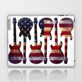 American Flag Guitar Art Laptop & iPad Skin