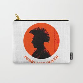 Punks not death Carry-All Pouch