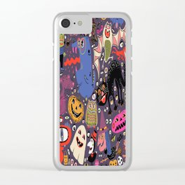 Yay for Halloween! Clear iPhone Case