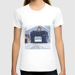 Vermont Covered Bridge Sugabush T-shirt