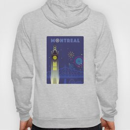 Montreal - Clock Tower Hoody