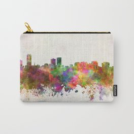Baton Rouge skyline in watercolor background Carry-All Pouch