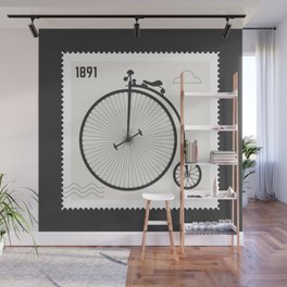 Penny Farthing 1891 Wall Mural