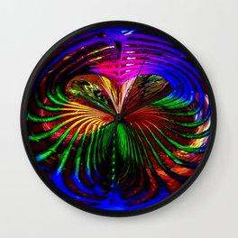 """""""Loves Rainbow"""" Wall Clock"""