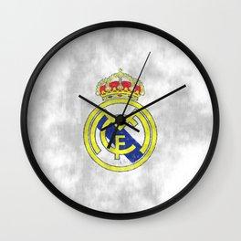 Real Madrid CF sketch Wall Clock