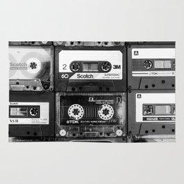 Something Nostalgic - black and white #decor #buyart #society6 Rug