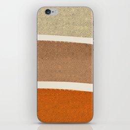 Copper Spots iPhone Skin