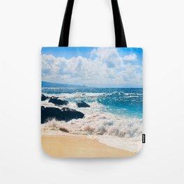 Hookipa Beach Maui Hawaii Tote Bag