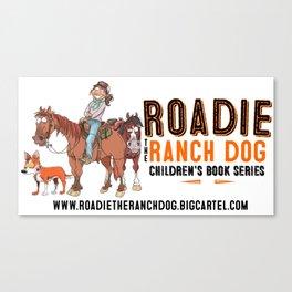 ROADIE THE RANCH DOG Canvas Print