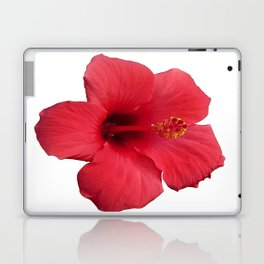 Stunning Red Hibiscus Flower Laptop & iPad Skin