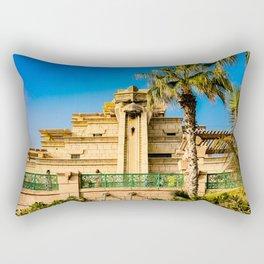 Atlantis, The Vertigo of the Lost World Rectangular Pillow
