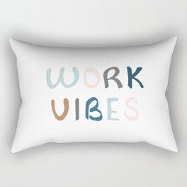 Spreading work vibes Rectangular Pillow