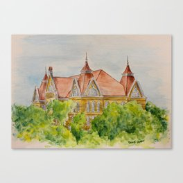 Texas State (SWT) University Old Main Building, San Marcos, TX Canvas Print