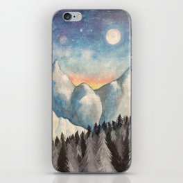 With How Sad Steps, Oh Moon iPhone Skin