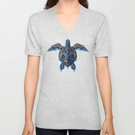 Sea Turtle (Color Version) Unisex V-Neck