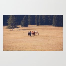 Montana Collection - Horses on the Ranch Rug