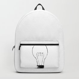 Lightbulb Sketch Backpack