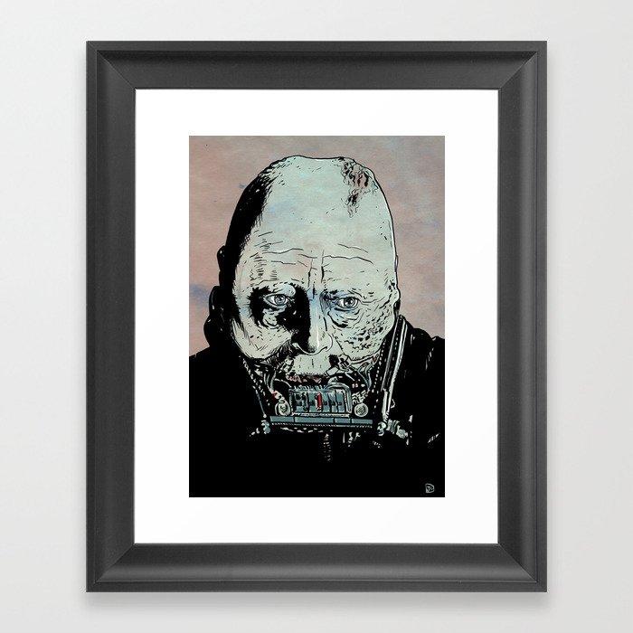 Darth Vader Anakin Skywalker Framed Art Print