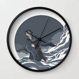 Does the Walker Choose the Path, or the Path the Walker?  Wall Clock