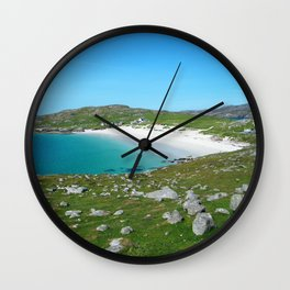 Hushinish Beach Wall Clock