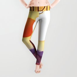 Kepler-16b - NASA Space Travel Poster Leggings